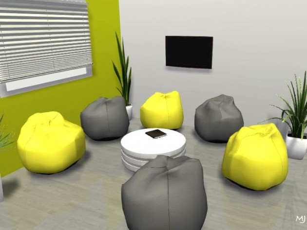3D - petit salon TV