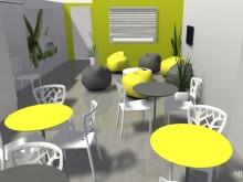 3D relooking salle de pause