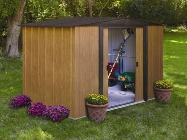 Abri jardin métallique - France Abris - Abri de jardin ...