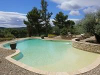 Aménagement piscine terrasse en graviers