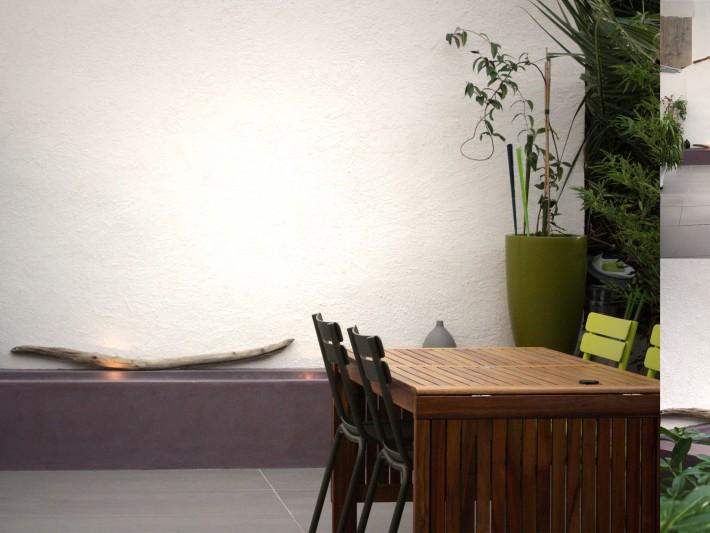 Aménagement terrasse appartement