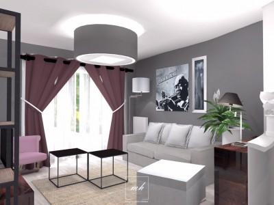 Idee deco salon salle manger photo salon salle for Deco interieur contemporain