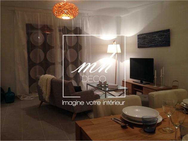 d coration d 39 un appartement t moin amenager un s jour ouvert id. Black Bedroom Furniture Sets. Home Design Ideas