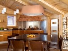 Appartement en bois style chalet de montagne
