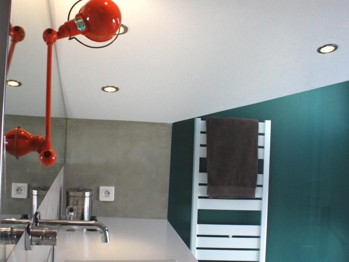 Rnovation Appartement  Symetric Design  Applique Murale Salle De