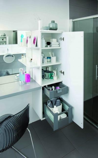 Photos sur le th me coiffeuse meuble id for Coiffeuse de salle de bain