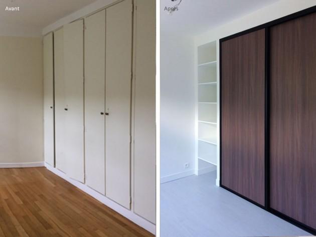 Avant / après : La rénovation de l'armoir