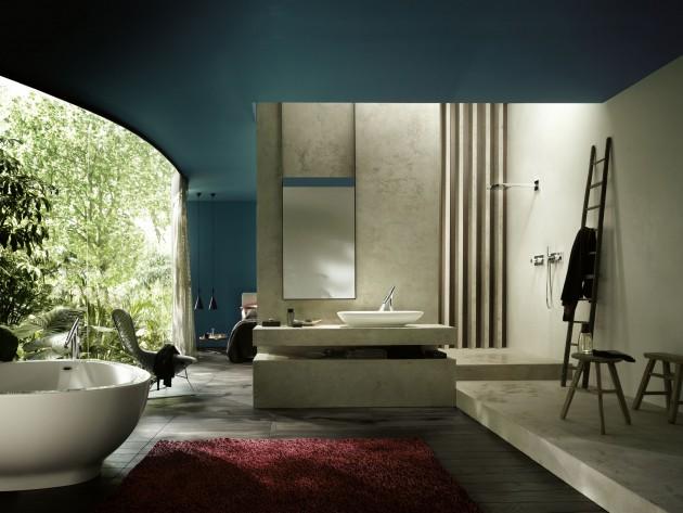 Salle de bain Starck - Hansgrohe et Axor