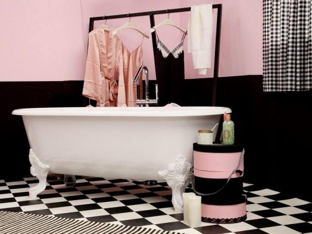 baignoire sur pieds et penderie - Baignoire Sur Pieds