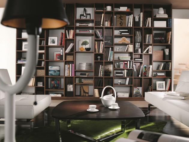 Bibliothèque en bois