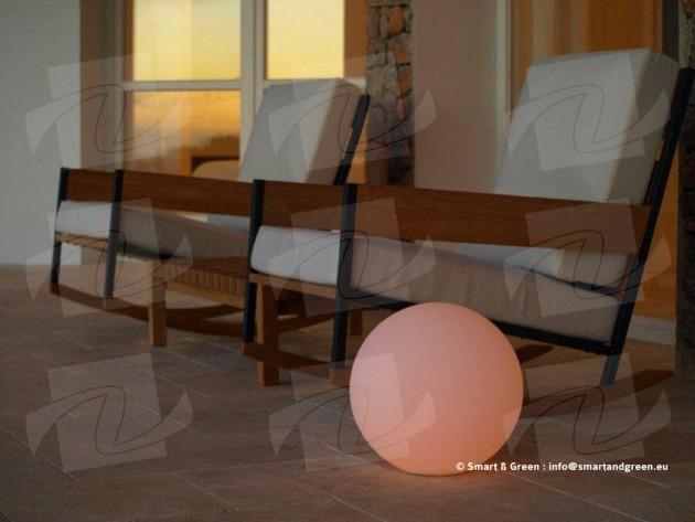 Eclairage ext rieur smart green boule lumineuse for Eclairage exterieur boule lumineuse