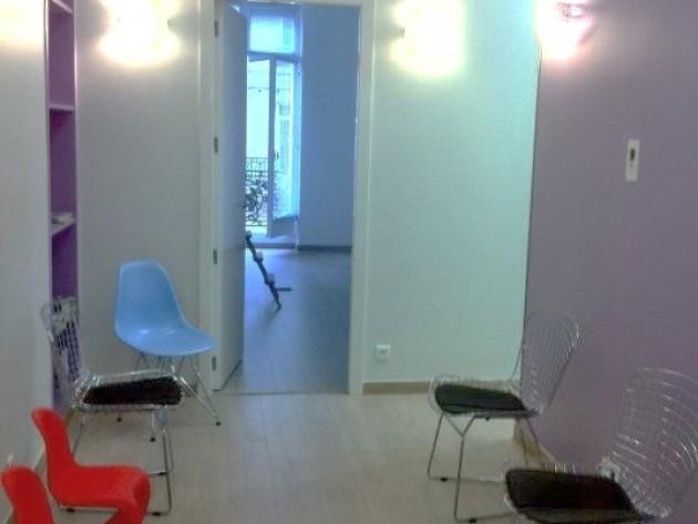 Cabinet médical rénové par So D-Sign – Salle d'attente