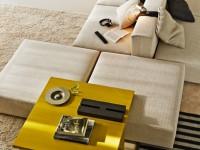 Canapé modulable beige