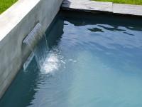 Casacade décorative piscine