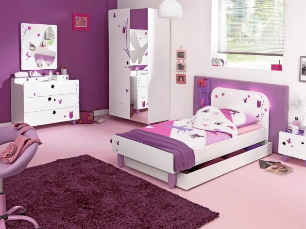 construire une maison pour votre famille chambres filles With chambre ado fille conforama