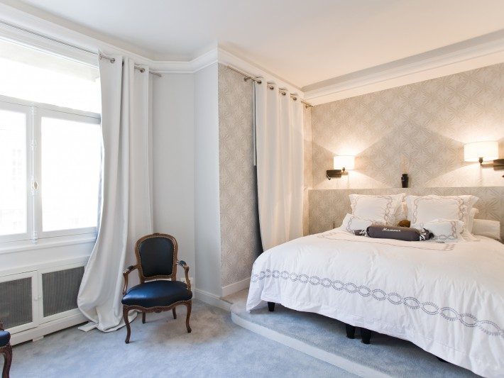 Rénovation intérieure appartement - Ouest Home - Chambre à coucher ...