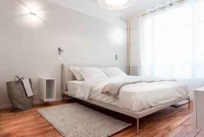 Chambre à coucher design et contemporaine