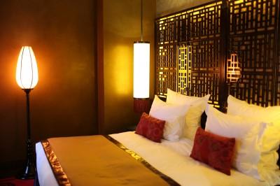 Photos sur le th me t te de lit bois id - Tete de lit style asiatique ...