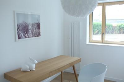 Chambre avec radiateur mural Zehnder