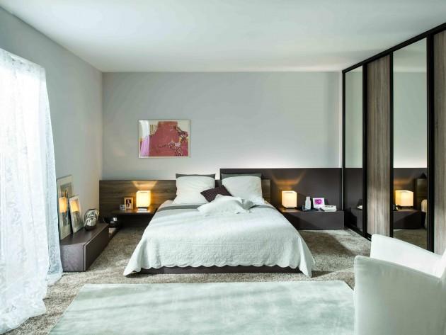 Rangement chambre schmidt chambre classique avec armoire dressing id es - Chambre avec dressing ...