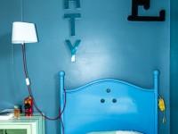Chambre d'adolescent lettrage  arty