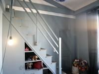 Chambre enfant avec mezzanine