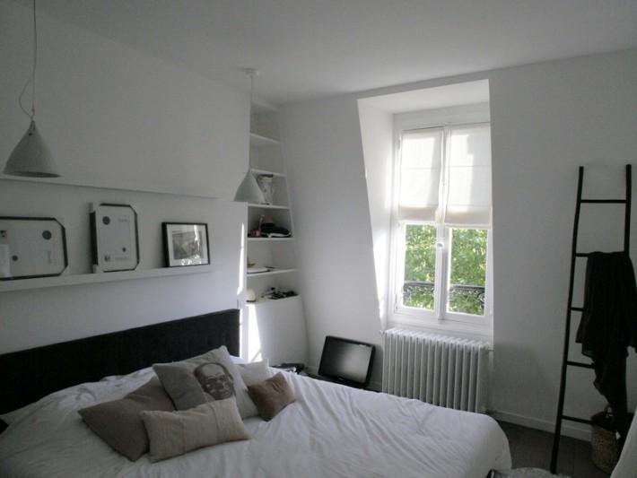 r novation appartement style loft ouest home chambre parentale dans loft id. Black Bedroom Furniture Sets. Home Design Ideas