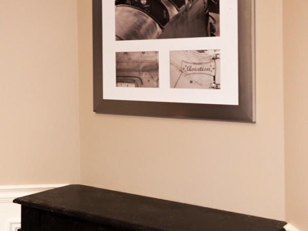 r novation appartement haussmannien r novation parisienne chemin e d corative dans la salle. Black Bedroom Furniture Sets. Home Design Ideas