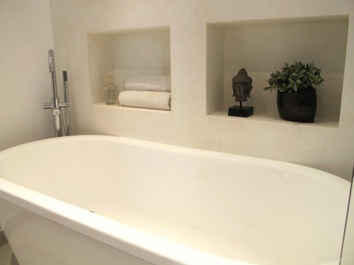 Salle de bain baignoire ilot - Inside Création - Coin baignoire ...