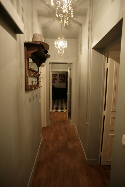 Entr e contemporaine marron photo page 2 id - Couleur couloir appartement ...