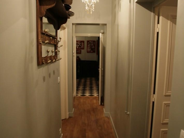 Décoration intérieure appartement - Ouest Home - Couloir vintage ...
