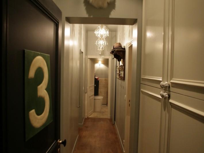 Couloir vintage fantaisiste