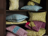Coussins décoratifs en tissu chenille