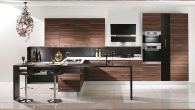 cuisine marron photo cuisine marron page 5. Black Bedroom Furniture Sets. Home Design Ideas