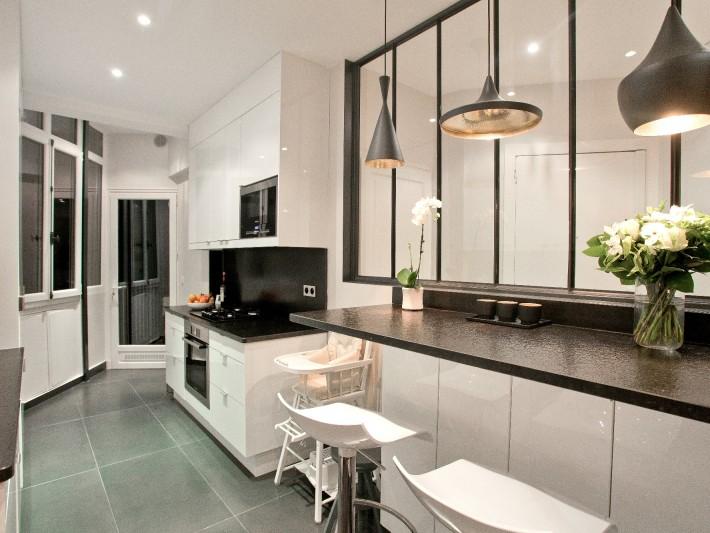 Renovation Appartement Ouest Home Cuisine Equipee Avec Plans