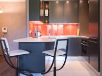 Cuisine ouverte avec coins repas mobilier Armony cucine