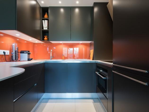 cuisine en u ouverte sur un grand salon cuisine ouverte avec coins repas mobilier armony. Black Bedroom Furniture Sets. Home Design Ideas