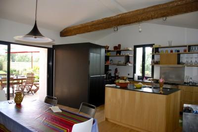 Cuisine beige photo cuisine beige page 8 id for Cuisine ouverte sur le sejour