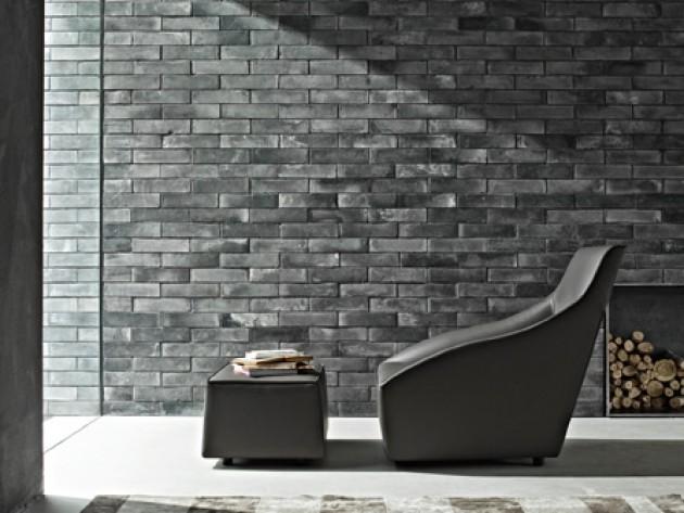 Décor moderne avec fauteuil en cuir