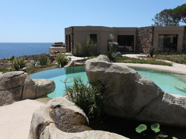 Piscines formes libres diffazur d coration autour d for Decoration autour d une piscine