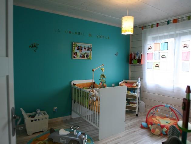 Construction maison ossature bois guillaumie - Decoration chambre petit garcon ...