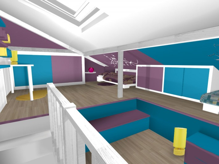 Décoration chambres avec une décoratrice