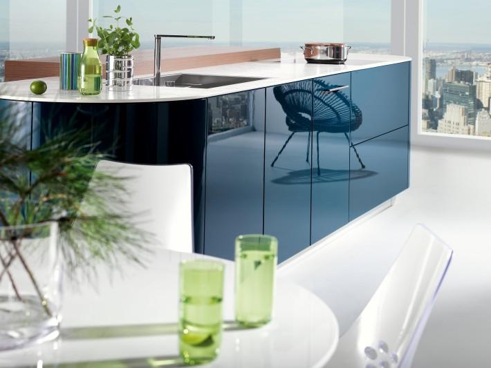 Cuisine gaia bleu mobalpa d coration de cuisine - Decoration de cuisine moderne ...
