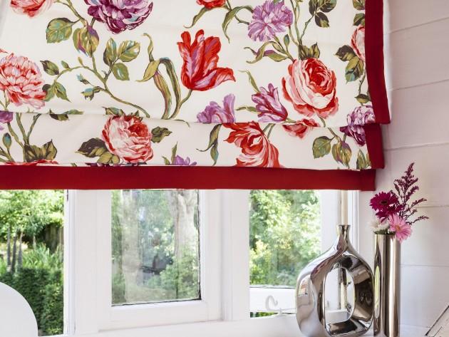 Textiles blossom prestigious textiles d coration de for Decoration rebord fenetre