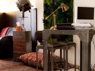b timent brique deco bureau psychologue. Black Bedroom Furniture Sets. Home Design Ideas