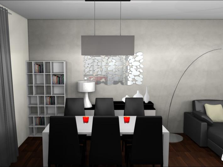 Décoration contemporaine - MH Déco - Décoration salle à manger ...