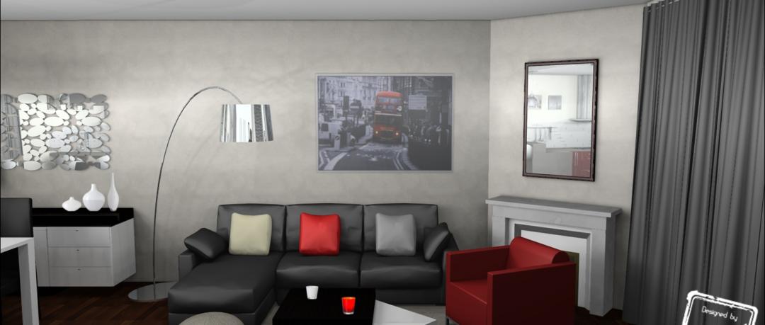 Décoration salon contemporain