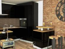 Décoration séjour industriel - 3D