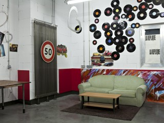 Décoration vintage et radiateur zehnder
