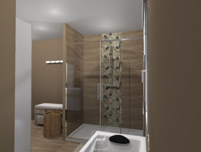 Idee deco salle de bains photo salle de bains for Realisation salle de bain italienne